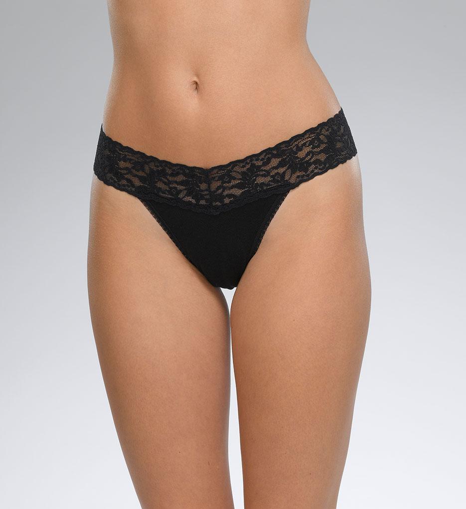 Hanky Panky 6334 Modal Stretch Lace Thong