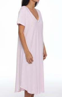 Hanky Panky Interlock Nightshirt With Contrast Stitch 6565N1