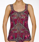 L.A.M.B. Geo Signature Lace Unlined Camisole Image