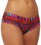 Licorice Stripe Cheeky Hipster Panty