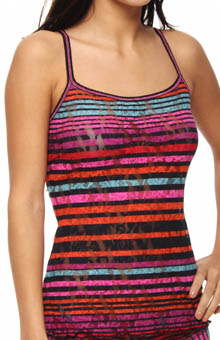 Hanky Panky Licorice Stripe Camisole 7M4662