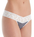 Cotton With A Conscience Low Rise Thong Image