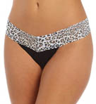 Hanky Panky Jaguar Cotton with a Conscience Low Rise Thong 891591