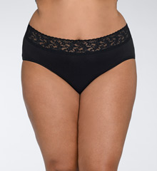 Hanky Panky Cotton With A Conscience Plus Size Brief Panty 892461X