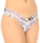 Headlines Low Rise Thong