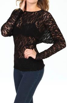 Hanky Panky Ariel Lace Dolman Top 9BT164