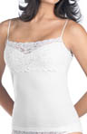 Hanro Luxury Moments Wide Lace Spaghetti Cami 1448