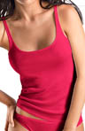 Hanro Everyday Cotton Tank Camisole With Narrow Straps 1490