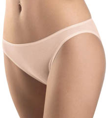 Cotton Seamless Hi Cut Brief Panty