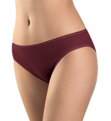 Cotton Seamless Hi-Cut Full Brief