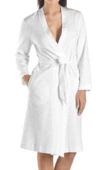 Short Waffle Robe