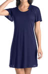 Violet Short Sleeve Gown