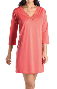Hanro Gwen 3/4 Sleeve Gown 7462