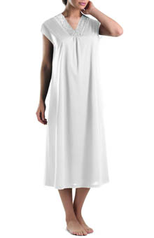 Moments Cap Sleeve Long Gown
