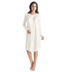 Bronx Long Sleeve Button Down Gown Image