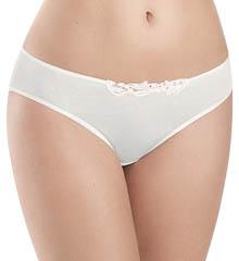 Hanro Julie Hi Cut Lace Trim Bikini Panty 9626