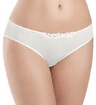 Julie Hi Cut Lace Trim Bikini Panty