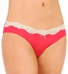 Hanro Scarlett Lace Trim Brazilian Panty 9661