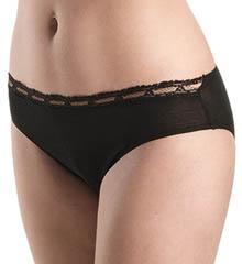 Hanro Liz Lace Trim Bikini Panty 9856