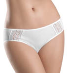 Hanro Mia Lace Trim Hi-Cut Brief Panty 9860