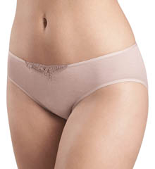 Hanro Filipa Lace Trim Hi Cut Brief Panty 9912