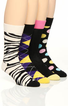 Happy Socks 4 Pack Sock Variety Box Set