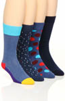 Happy Socks 4 Pack Sock Variety Box Set BOXBD421