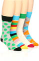 Happy Socks 4 Pack Sock Variety Box Set BOXSA035