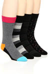 Happy Socks 4 Pack Sock Variety Box Set BOXSA310