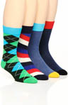Happy Socks 4 Pack Sock Variety Box Set BOXSA313