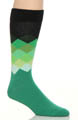 Happy Socks Faded Diamonds Sock FD01075