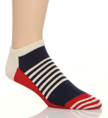 Half Stripe Low Socks