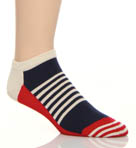 Happy Socks Half Stripe Low Socks LO12009