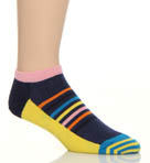 Happy Socks Half Stripe Low Socks LO12010