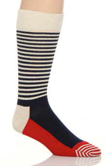 Half Stripe Sock
