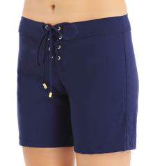 Helen Jon 7 Inch Lace-Up Board Short NYS0552