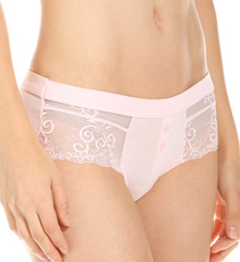 honeydew Valerie Fine Rib & Lace Girlshort Panty 200370