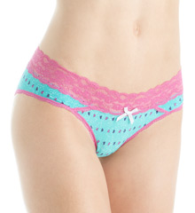 honeydew Ahna Rayon And Wide Lace Hipster Panty