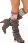 Multi Block Knee High Sock