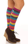 Rugby Stripes With Buttons Knee High