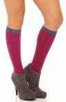 Heart Pointelle Knee High Sock