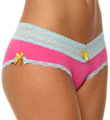 Cutie Rayon And Lace Hipster Panty