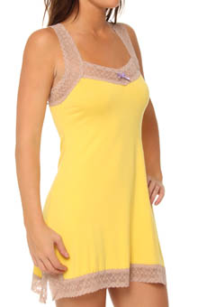 Cutie Rayon And Lace Chemise