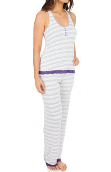 honeydew Ski Bunny Lace Trim PJ Set