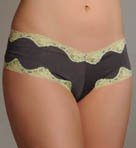 Lace-Trimmed Boyshort Panty