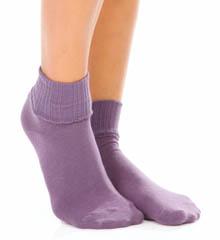 Hue Huetopia Turn Cuff Sock 11015