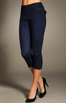 Hue 12246 City Jeans Capri Legging