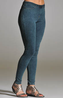 Hue 12767 Color Wash City Jeans Leggings