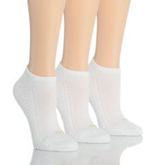 Air Cushion No Show 3 Pair Sport Sock Pack