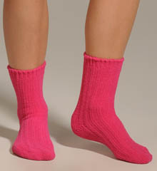 Ribbed Chenille Sock